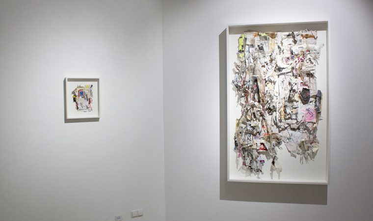 Galerie Frappant - Installationview 1