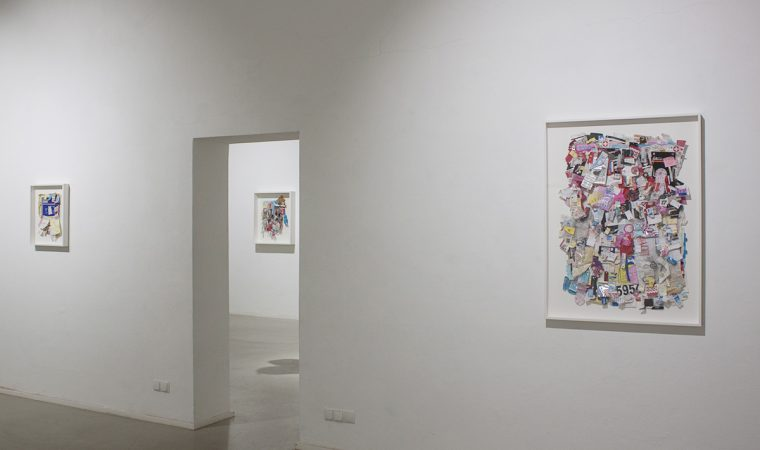 Galerie Frappant - Installationview 3